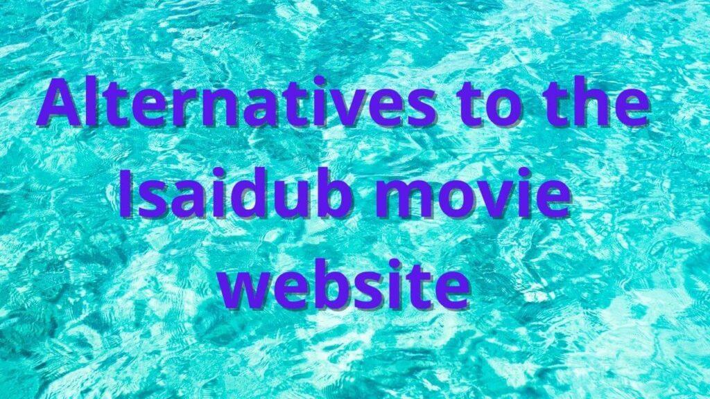 Isaidub alternatives