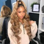 Unice provide the best quality product honey blonde wigs